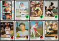 Baseball Cards:Sets, 1973 Topps Baseball Near Set (659/660). ...