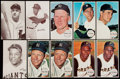 Baseball Cards:Lots, 1963 Exhibit Stat Back and 1964 Topps Giants Baseball Collection(118). ...