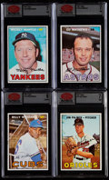 Baseball Cards:Lots, 1967 Topps Baseball Partial Low Series Set (500/533) With Extras. ...