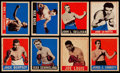 Boxing Cards:General, 1948 Leaf Boxing Partial Set (33). ...