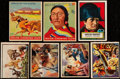 Non-Sport Cards:Lots, 1947-1952 Topps, Bowman & Goudey Non-Sport Collection (28). ...