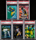 Football Cards:Lots, 1997 Orlando Pace High-Grade PSA Graded Rookie Collection (5)....