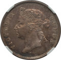 British Honduras:British Colony, British Honduras: British Colony. Victoria 50 Cents 1897 AU58 NGC,...