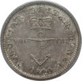 British West Indies, British West Indies: British Colony. George IV 1/8 Dollar 1820 MS64PCGS,...