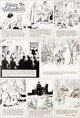 Hal Foster Prince Valiant #1751 Sunday Comic Strip Original Art dated 8-30-70 (King Features Syndicate, 1970).... (2)