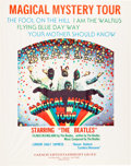 Music Memorabilia:Posters, Beatles Magical Mystery Tour Movie Poster (New Line, Mid-1970s)....