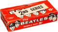 Music Memorabilia:Memorabilia, Beatles Topps Second Series Bubble Gum Cards Display Box (US, 1964). ...