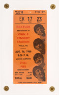 Music Memorabilia:Tickets, Beatles John F. Kennedy Stadium, Philadelphia, August 16, ...