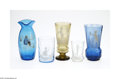 Art Glass:Other , A GROUP OF ENAMELED GLASS ITEMS... (5 Items)