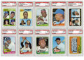 Baseball Cards:Sets, 1965 Topps Baseball Complete Set (598), Plus Wrappers (2).Offered is a 1965 Topps complete set of 598 cards in overall solid...