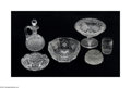 Art Glass:Other , A COLLECTION OF AMERICAN BRILLIANT-CUT GLASS... (6 Items)