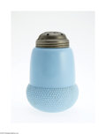 Art Glass:Other , A COLORED GLASS SUGAR SHAKER...
