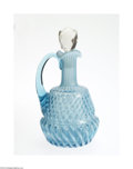 Art Glass:Other , AN OPALESCENT GLASS CRUET... (2 Items)