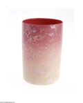 Art Glass:Other , AN AMERICAN AGATA 'WILD ROSE' TUMBLER...