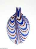 Art Glass:Other , AN ENGLISH GLASS FLASK...