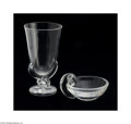 Art Glass:Steuben, AN AMERICAN GLASS VASE AND NUT DISH... (2 Items)
