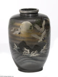 Decorative Arts, Continental:Other , A JAPANESE METAL VASE...