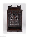 Furniture : Continental, A CHINESE LATE QING DYNASTY TAOIST SHRINE...