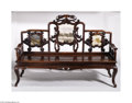 Furniture , A QING DYNASTY SOFA-BED...