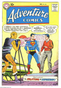 Silver Age (1956-1969):Superhero, Adventure Comics #255 (DC, 1958) Condition: GD/VG. Superboy's first encounter with Red Kryptonite. Green Arrow appearance. C...