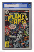 Bronze Age (1970-1979):Science Fiction, Adventures on the Planet of the Apes #6 (Marvel, 1976) CGC NM+ 9.6 White pages. Jim Starlin cover. George Tuska art. This is...