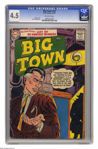 Big Town #45 (DC, 1957) CGC VG+ 4.5 Off-white pages. Gil Kane cover. Manny Stallman art. Overstreet 2004 VG 4.0 value =...