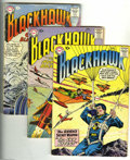 Silver Age (1956-1969):Adventure, Blackhawk Group (DC, 1958-64) Condition: Average GD/VG. This group consists of eight comics: #122, 123, 127, 129, 134, 136, ... (Total: 8 Comic Books Item)