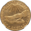 Chile, Chile: Republic gold 8 Escudos 1836 So-IJ XF Details (Surface Hairlines) NGC,...