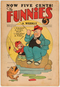 Platinum Age (1897-1937):Miscellaneous, The Funnies #23 (Dell, 1930) Condition: GD/VG....