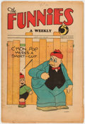 Platinum Age (1897-1937):Miscellaneous, The Funnies #36 (Dell, 1930) Condition: VG....