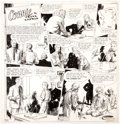 Original Comic Art:Comic Strip Art, Frank Godwin Connie Sunday Comic Strip Original Art (LedgerSyndicate, c. 1935-40)....