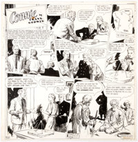 Frank Godwin Connie Sunday Comic Strip Original Art (Ledger Syndicate, c. 1935-40)