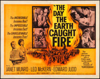 """The Day the Earth Caught Fire (Universal, 1962) Folded, Fine/Very Fine. Half Sheet (22"""" X 28""""). Science Fictio..."""