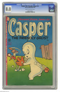 Golden Age (1938-1955):Cartoon Character, Casper the Friendly Ghost #11 (Harvey, 1953) CGC VF 8.0 Cream tooff-white pages. Bill Hudson cover. Overstreet 2004 VF 8.0 ...