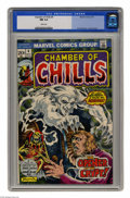 Bronze Age (1970-1979):Horror, Chamber of Chills #4 (Marvel, 1973) CGC NM 9.4 White pages. FrankBrunner cover and art. Overstreet 2004 NM- 9.2 value = $16...