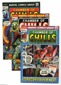 Bronze Age (1970-1979):Horror, Chamber of Chills Group (Marvel, 1972-76) Condition: Average VF/NM.This group includes #1, 2 (first appearance of Brak the ... (Total:13 Comic Books Item)