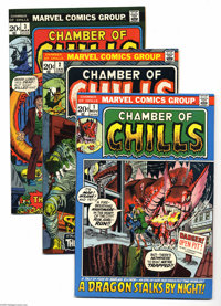 Chamber of Chills Group (Marvel, 1972-76) Condition: Average VF/NM. This group includes #1, 2 (first appearance of Brak...
