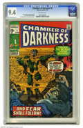 Bronze Age (1970-1979):Horror, Chamber of Darkness #5 (Marvel, 1970) CGC NM 9.4 Off-white pages.H. P. Lovecraft adaptation. Jack Kirby and Bill Everett co...
