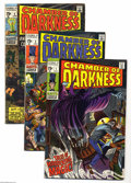 Silver Age (1956-1969):Horror, Chamber of Darkness Group (Marvel, 1968-72) Condition: Average VF.This group includes #1 (John Buscema art), 2, 4 (GD; Cona...(Total: 7 Comic Books Item)