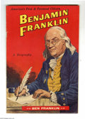 Golden Age (1938-1955):Classics Illustrated, Classics Giveaways - Benjamin Franklin 5-10 (Gilberton, 1956)Condition: FN+. This interesting comic promotes the Ben Frankl...