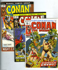 Bronze Age (1970-1979):Miscellaneous, Conan the Barbarian Group (Marvel, 1973-74) Condition: AverageVF/NM. This group includes #8, 15, 16, 20, 21, 22, 23, 27, 28...(Total: 10 Comic Books Item)
