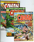Bronze Age (1970-1979):Miscellaneous, Conan the Barbarian Group (Marvel, 1974-77) Condition: NM-. Thisgroup includes # 31, 33, 34, 35, 37, 38, 40, 41, 44, 47, 51...(Total: 26 Comic Books Item)