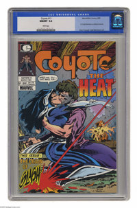 Coyote #11 (Marvel/Epic, 1985) CGC NM/MT 9.8 White pages. First Todd McFarlane published artwork. This is currently the...