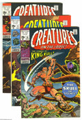Bronze Age (1970-1979):Horror, Creatures on the Loose Group (Marvel, 1971-75) Condition: AverageVF+. This group includes #10 (first full appearance of Kin...(Total: 10 Comic Books Item)