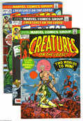 Bronze Age (1970-1979):Horror, Creatures on the Loose Group (Marvel, 1973-75) Condition: AverageVF/NM. This group includes # 21, 22, 23, 24, 25, 26, 27, 2...(Total: 12 Comic Books Item)