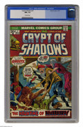 Bronze Age (1970-1979):Horror, Crypt of Shadows #7 (Marvel, 1973) CGC NM+ 9.6 Off-white pages.This is currently the highest grade awarded by CGC for this ...