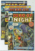 Bronze Age (1970-1979):Horror, Dead of Night Group (Marvel, 1973-75) Condition: Average VF+. Thisgroup includes #1, 2, 3, and 11 (Gil Kane and Bernie Wrig...(Total: 4 Comic Books Item)