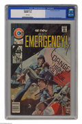 Bronze Age (1970-1979):Miscellaneous, Emergency! #1 (Charlton, 1976) CGC NM/MT 9.8 White pages. JoeStaton cover. Early John Byrne art. This is currently the high...