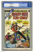 Bronze Age (1970-1979):Western, Giant-Size Kid Colt #2 (Marvel, 1975) CGC NM- 9.2 Off-white pages. Gil Kane cover. Dick Ayers and Jack Keller art. Overstree...
