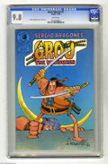 Modern Age (1980-Present):Humor, Groo Special #1 (Eclipse, 1984) CGC NM/MT 9.8 White pages.Overstreet 2004 NM- 9.2 value = $22. CGC census 3/05: 4 in 9.8,n...